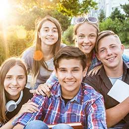 Teenage heroes