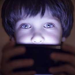Child on device