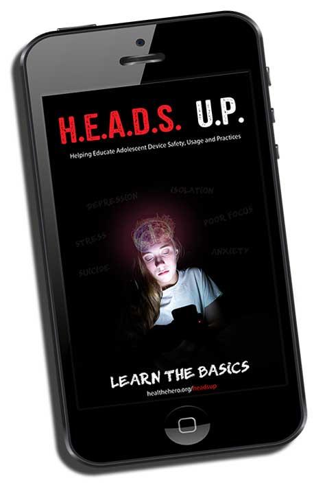 Heads Up phone