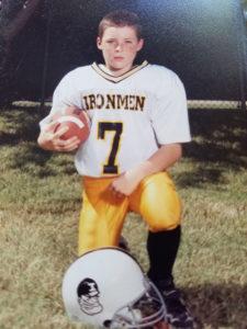 Noah on the football team