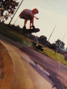 Noah skateboarding